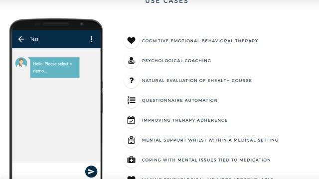 Psychotherapie Bot Künstliche Intelligenz Tess Karim X2AI