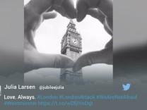 Twitterschau London