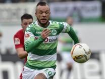 19 12 2015 Fussball Saison 2015 2016 2 Fussball Bundesliga 19 Spieltag SpVgg Greuther F; Schröck Stephan