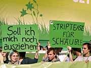 Parteitag der Grünen, dpa