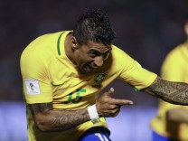 WM-Qualifikation: Uruguay - Brasilien