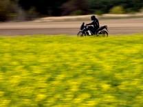 Motorradfahrer wieder auf Brandenburgs Straßen unterwegs