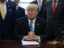 Trump-Regierung bewilligt umstrittene Pipeline Keystone XL