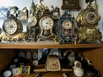 Uhrensammler Paul Beiwinkler, Vogesenstraße 5a in Turdering