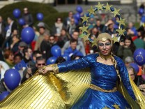 'March For Europe' Celebrates Treaty Of Rome