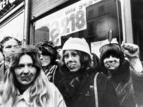 Frauendemonstration gegen Paragraph 218 in Frankfurt am Main 1974