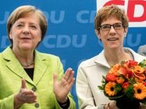 Nach der Landtagswahl im Saarland - CDU