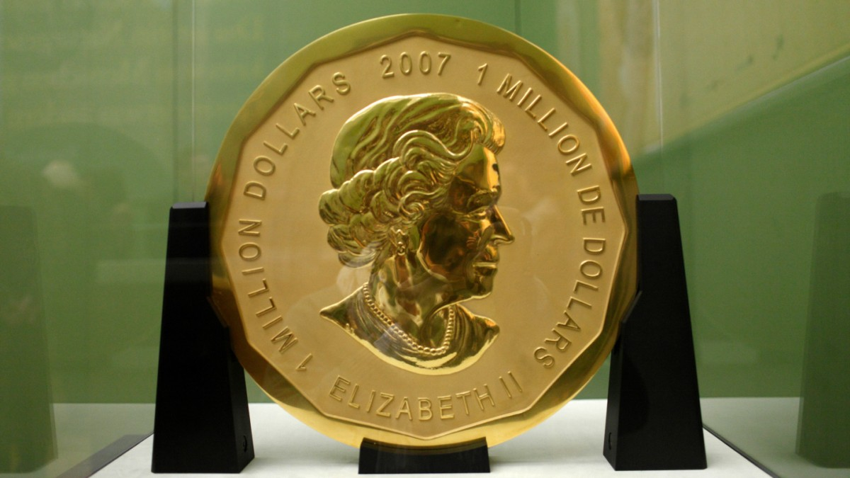 Kunstraub Bode-Museum: Die 100-Kilo-Münze in der Karre - Kultur ...