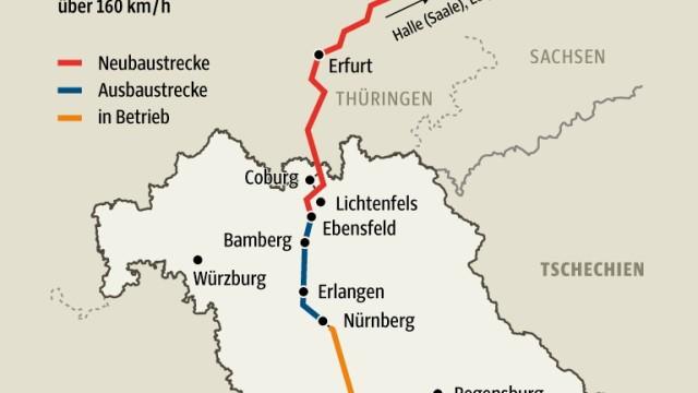 Nürnberg Bahnverkehr