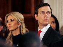 Ivanka Trump und ihr Mann Jared Kushner