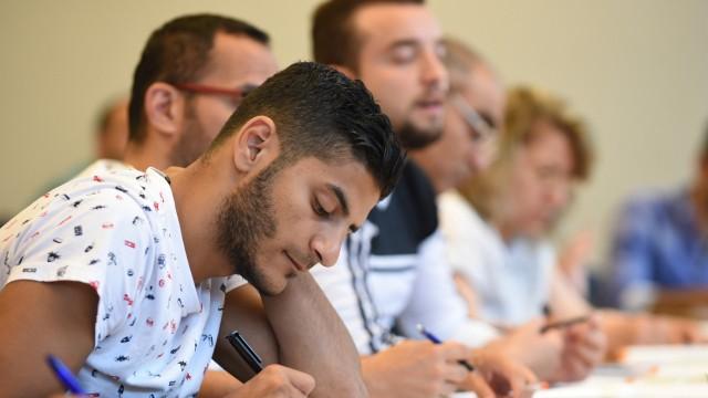 Deutschkurs für Flüchtlinge an der Uni Vech