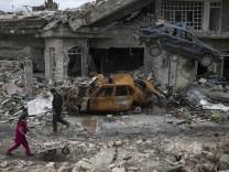Irak -Kampf um Mossul