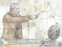 Illja Ramírez Sánchez alias Carlos vor Gericht in Paris.
