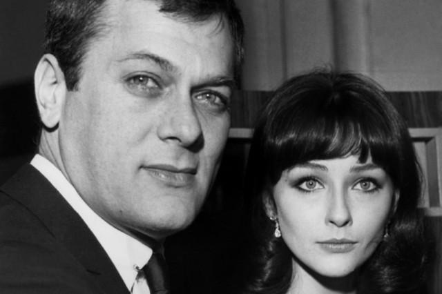 Tony Curtis und Christine Kaufmann