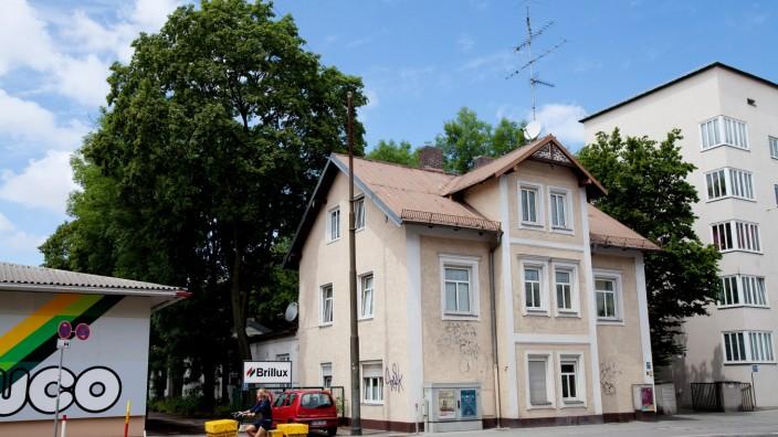 Projektgebiet Plinganser Str. 50-62, Quartier hinter Harras-Post bis Dudenstr. und Karwendelstr.