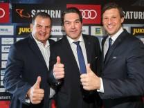 DEL Eishockey ERC Ingolstadt Saison 2017 2018 Vorstellung neuer Sportdirektor Larry Mitchell