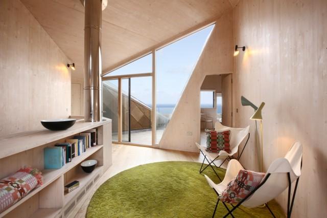 The Dune House (PR Material bezogen über living-architecture.co.uk)