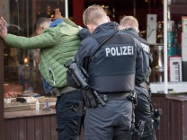 Drogen-Razzia in Frankfurt