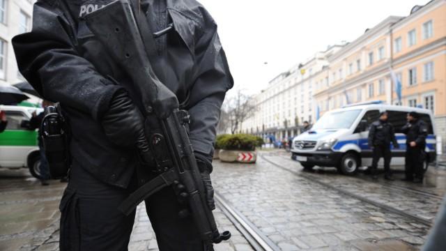 Sicherheitsmanagement anlässlich der Münchner Sicherheitskonferenz, 2017