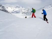 Aletsch Arena Gletscher Wallis Schweiz Skifahren Skigebiet Ski Schneeschuh