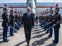Bundespräsident Steinmeier reist nach Paris
