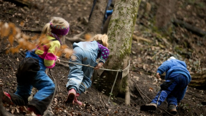 Siegsdorf: Waldkindergarten Eisenärzt
