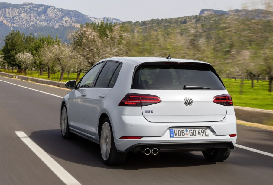 Elektromobilität Der Vw Golf Gte Mit Vw Golf Auto Mobil