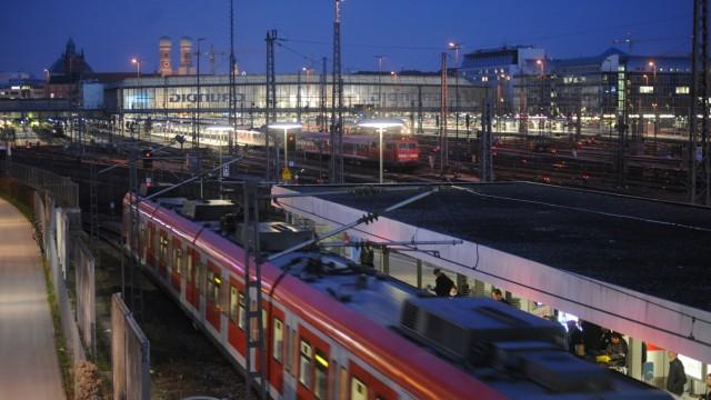 S-Bahn München S-Bahn-Netz