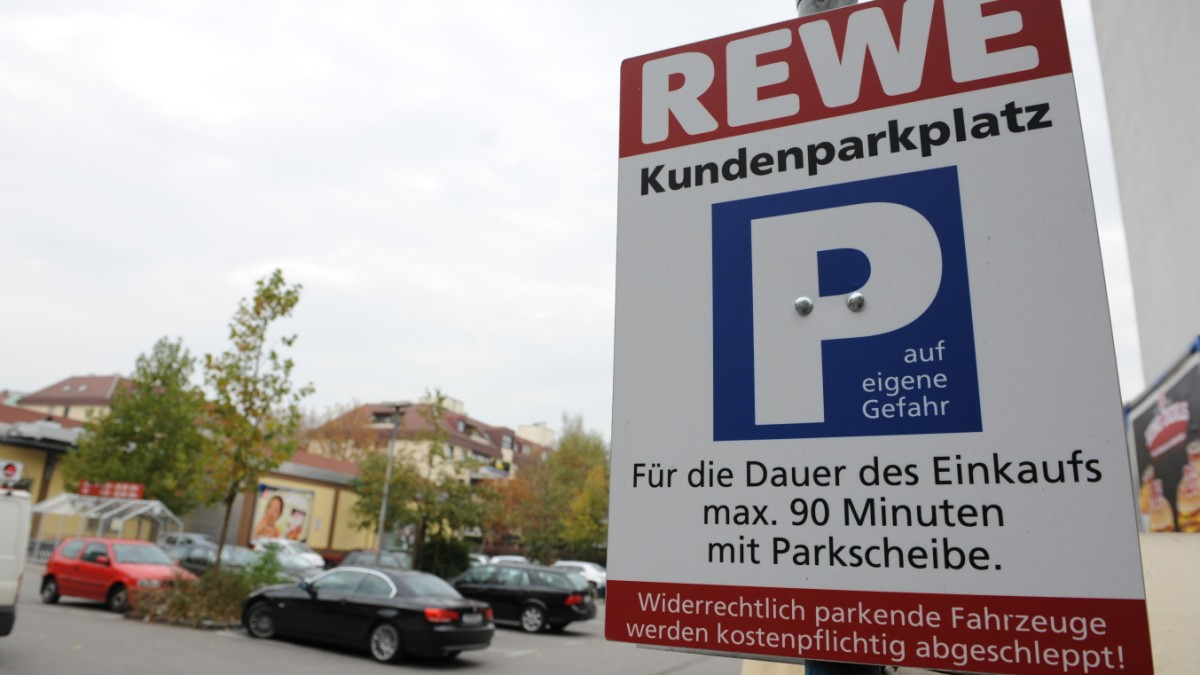 Wenn Supermarktkunden in der Falle parken