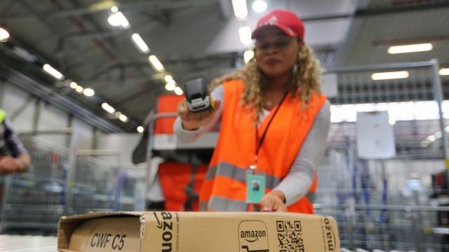 Amazon eröffnet neues Verteilzentrum