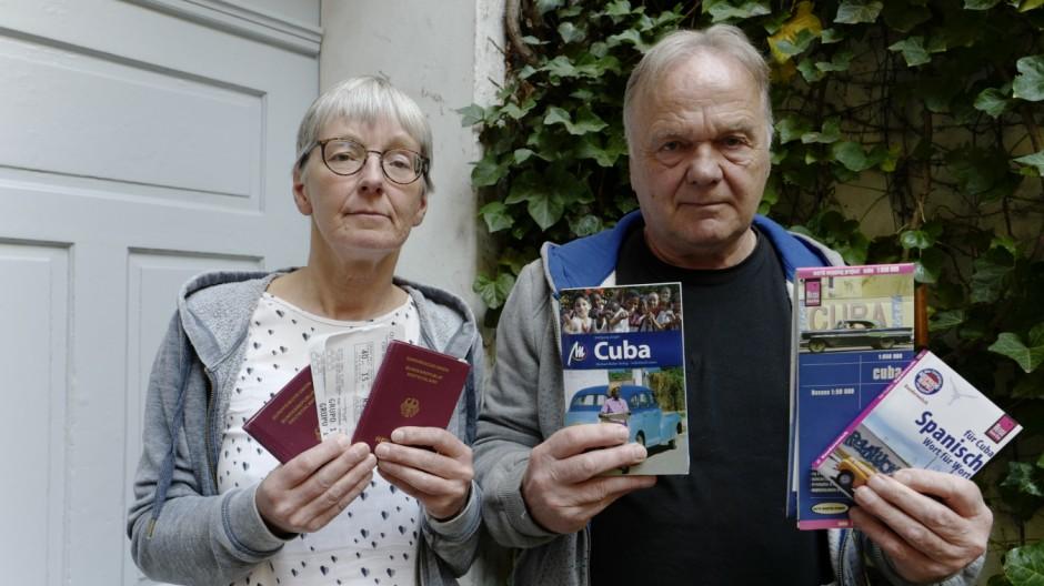 Flugreisen Touristen