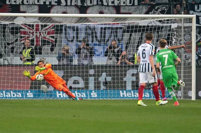01 04 2017 xovx Fussball 1 Bundesliga Eintracht Frankfurt Borussia Moenchengladbach emspor v