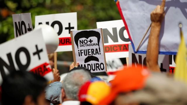 Proteste gegen Nicolás Maduro in Caracas