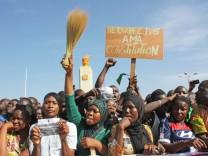 Die Afrikanische Revolution - Burkina Faso 2014 Ausstellung im Gasteig