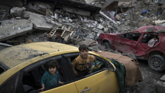 Kinder in Mossul