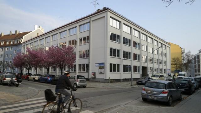 Flüchtlinge in München Sendling