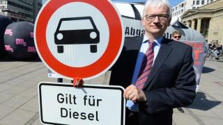 Aktionstag für bessere Luft in Stuttgart
