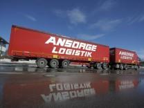Lang-Lkw (Gigaliner) der Allgäuer Spedition Ansorge-Logistik