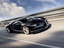 Der neue Bugatti Chiron.