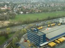 Wiese in Berg am Laim, München, aufgenommen am 04. April 2017.
