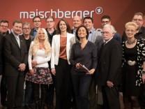 """Maischberger-Publikumsdebatte zum Thema """"Millionär oder Minijobber: Ist Deutschland ungerecht?"""""""