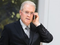 WASHINGTON, DC - MARCH 23: Billionaire Robert Mercer speaks on