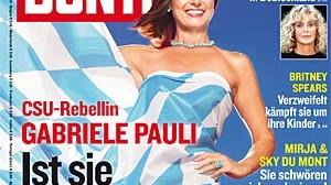 """""""Bunte"""": Coverstar Gabriele Pauli"""