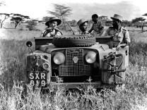 Land Rover Defender in Afrika