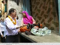 BM Mueller besucht Indien