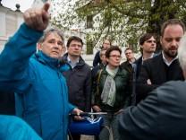 Treffen von Vertretern der SPD Freising