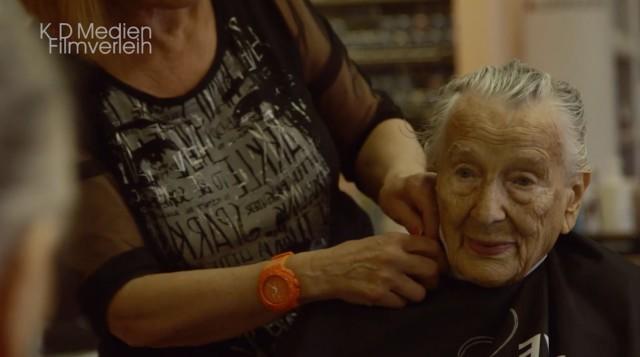 100-jährige Hella Müthing (PR Material für die KiSei)