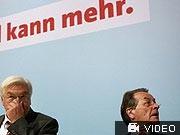 Müntefering, Steinmeier, dpa
