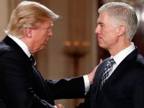 Trump und Gorsuch - Supreme Court