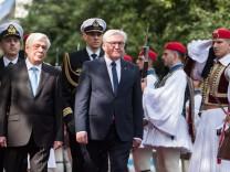 Bundespräsident Steinmeier in Athen